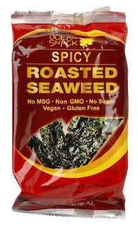 Edible seaweed has been turned into a flavorful, low-calorie snack.( Evans Caglage  -  Staff Photographer )