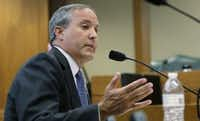 A file photo of Texas Attorney General Ken Paxton. (File 2015/The Associated Press)
