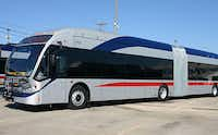 Longer, articulated buses, like those used by the Fort Worth Tranisit Authority's The Spur line, would carry passengers on dedicated roads between Plano and Fort Worth if DART adopts an alternative plan to long-hoped-for rail service on the old Cotton Belt Line route.(File 2011 - NBC 5)