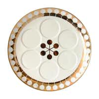 Futura (below) by Jonathan Adler. $150 at Judaic Treasures at Temple Emanu-El, Dallas, and jonathanadler.com.Jonathan Adler