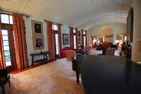 Grand Salon in the Main House at the King Ranch, as it looks now.(unknown)
