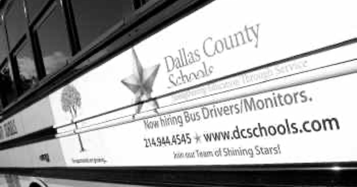 Eight Dallas Area Districts Add Ads On School Buses Hoping To Get