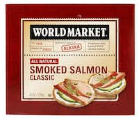 Shelf-stable smoked salmon, such as this one from World Market, isn't just for holidays.( Evans Caglage  -  Staff Photographer )