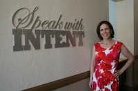 """Speak with intent,"" is one of the phrases Samantha Elandary, founder and CEO of the Parkinson Voice Project, uses often to encourage her patients."
