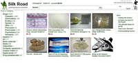 This frame grab from the Silk Road website shows thumbnails for products allegedly available through the site.(silkroaddrugs.org - The Associated Press)