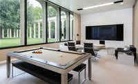 A game/media room(Courtesy of the Mathews-Nichols Group )