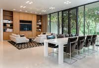 A living/dining area in the home(Courtesy of the Mathews-Nichols Group )
