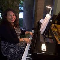 Ana Villareal teaches piano lessons. Luckily, the bite wound she sustained Sunday evening won't permanently derail her music-education future.