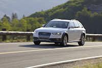 The 2014 Audi Allroad is one of the last true wagons left in Audi's lineup.