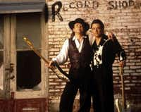 Stevie Ray and Jimmie Vaughan, family style.