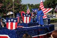 A float in Irving's Independence Day Parade.(Submitted by STEVE RAINWATER)