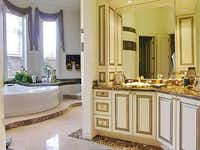One of the home's seven bathrooms(Ebby Halliday)