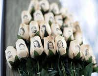 "<p><span style=""font-size: 1em; line-height: 1.364; background-color: transparent;"">White roses with the faces of victims of the Sandy Hook Elementary School shooting are attached to a telephone pole near the school in Newtown, Conn. (AP Photo/Jessica Hill</span></p>"