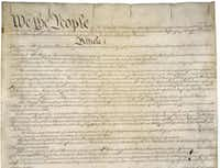 The  Constitution. (National Archives)