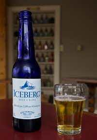 "The Quidi Vidi Brewery makes a very popular Iceberg Beer using only the melted water from icebergs. The cobalt blue bottles are a popular souvenir. (<p><span style=""font-size: 1em; line-height: 1.364; background-color: transparent;"">Bruce N. Meyer</span></p>)"