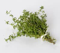 German thyme is more winter cold tolerant than other thyme varieties.(Ann McCormick/Special Contributor)