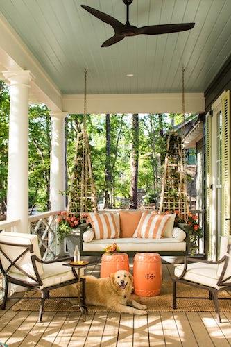 Dallas Designer Creates Pajama Lounge For Southern Living Idea