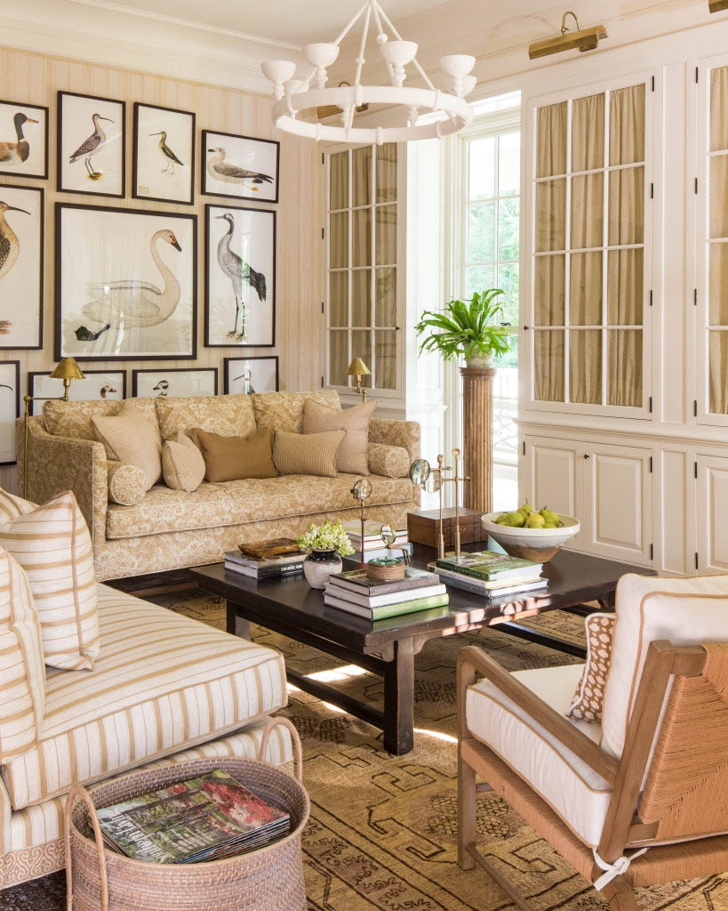 Mark D. Sikes Designed The Living Room In The Southern Living 2016 Idea  House.