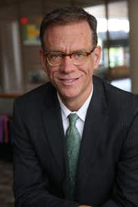 This is the first time that Dale Carpenter, a law professor at SMU, has taken a public position on a presidential candidate. (Tim Rummelhoff)