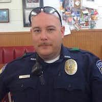 Brent Thompson, the 43-year-old DART officer killed Thursday night.(LinkedIn)
