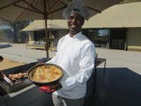 Wilderness Safaris' Linkwasha Camp in Zimbabwe offers gourmet food and impeccable service.(Wesley K.H. Teo)