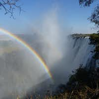 "Victoria Falls in known locally as Mosi-oa-Tunya, ""the smoke that thunders.""(Wesley K.H. Teo)"
