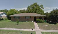 This is the on Chippendale Drive in McKinney where Leasa Nixon Carroll was stabbed to death.