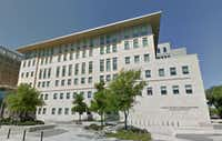 Shots were fired at the San Antonio Public Safety Headquarters late Saturday.(Google Maps)