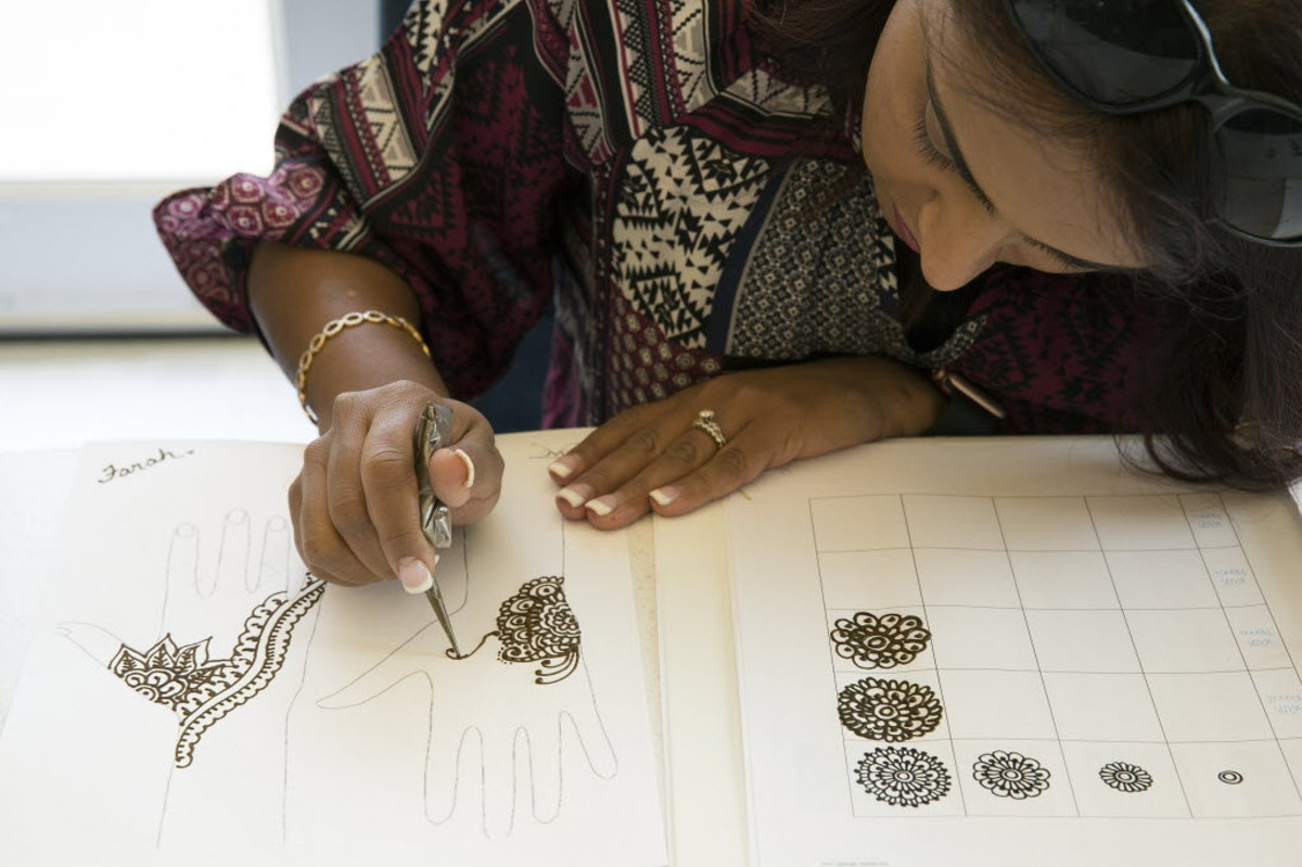 The Ancient Art Of Henna Is Now At Your Fingertips  Arts  Dallas News