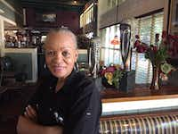 <p>Lorraine Carter, 69, former manager of South Dallas Cafe and still an employee, said she was looking forward to watching the Interfaith Tribute all day. But she became too emotional before it started and decided she couldn't stand to watch.<br></p>Jeff Mosier/The Dallas Morning News