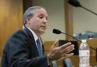 Attorney General Ken Paxton(The Associated Press)