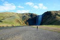 Skogafoss Waterfall in Iceland(Elizabeth Hamilton)