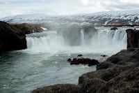Godafoss Waterfall in Iceland(Elizabeth Hamilton)