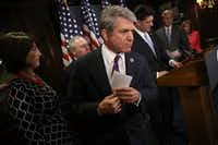 House Homeland Security Committee Chairman Michael McCaul, R-Austin, is one of the few federal lawmakers on the card for the Republican National Convention.(Win McNamee/Getty Images)