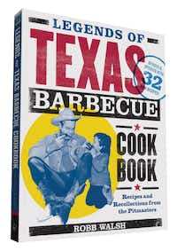 "Do you need the revised edition of ""Legends of Texas Barbecue Cookbook,"" by Robb Walsh? You do, if your old copy is spattered with barbecue stains. The new one has 32 new recipes, plus an update on the wildfire growth in Texas barbecue since 2002. (Chronicle Books)"