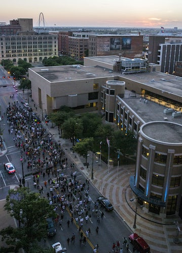 El Centro College Moves On After Dallas Police Shooting