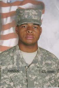This file photo obtained July 8, 2016 shows shows Micah Xavier Johnson.(HANDOUT/AFP/Getty Images)