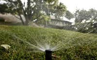 It's important to check the efficiency of your sprinkler system.
