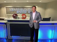 Greg Brown, president and CEO of Learfield, at the company's headquarters in Plano.Learfield