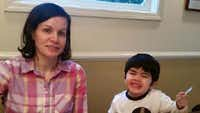 """<p><span style=""""font-size: 1em; line-height: 1.364; background-color: transparent;"""">Authorities are looking for Katie Daniels and her son Nahum Pauni.</span></p>(KXAS-TV (NBC5))"""