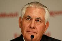 Exxon Mobil Chairman and CEO Rex Tillerson. (Jae S. Lee/The Dallas Morning News)