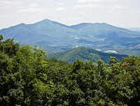 Panoramic view of Virginia's magnificent Blue Ridge.(Roanoke Valley CVB)