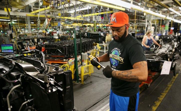 Off The Line Inside General Motors Arlington Assembly Plant