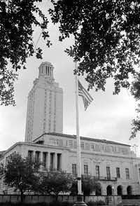 <p>On Aug. 1, 1966, after killing relatives, Charles Whitman took the tower at the University of Texas and used it as a sniping position. He killed 16 people and wounded dozens more. </p>(File Photo/The Associated Press)