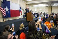 Sen. Bernie Sanders spoke Tuesday at the Philadelphia Airport Marriott.(Ashley Landis/Staff Photographer)