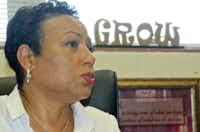 Cynthia Wilson, new DISD Chief of Staff formerly Superintendent of Orangeburg (SC) schools.