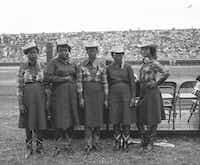 A group of singers from the Goree Unit strike a pose at the Texas Prison Rodeo.(Texas Department of Criminal Justice)