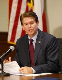 Arlington Mayor Jeff Williams(Tom Fox/The Dallas Morning News)