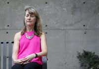 Gant's five-minute breaks twice a day have been life changing, she says.<div><br></div>(Rose Baca/Staff Photographer)