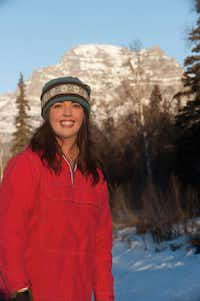 "Eowyn Ivey Author Eowyn Ivey at her home near Chickaloon, Alaska. &nbsp;(<p><span style=""font-size: 1em; line-height: 1.364; background-color: transparent;"">Stephen Nowers.</span><br></p><p></p>)"